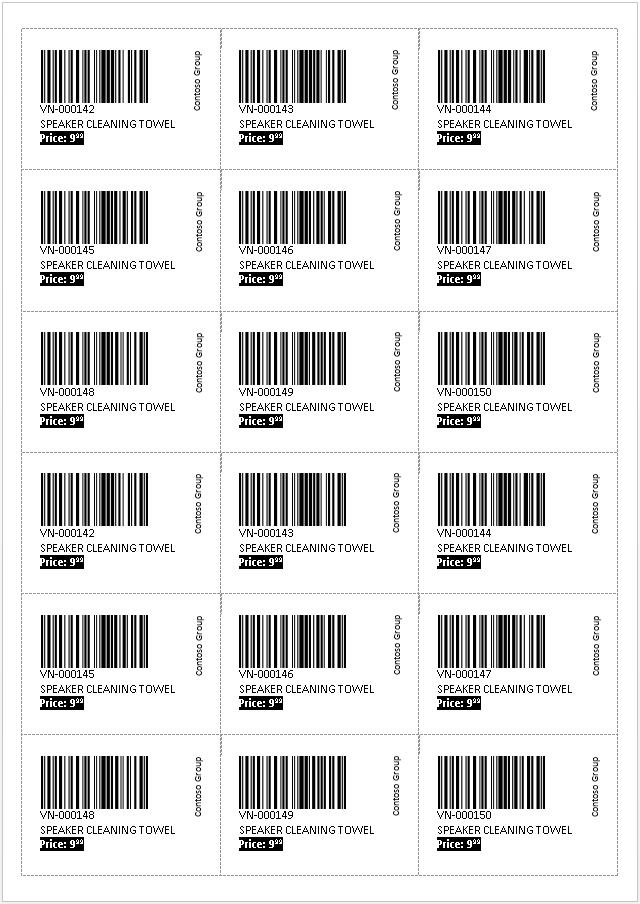 Atemberaubend Barcode Vorlage Bilder - Beispiel Zusammenfassung ...