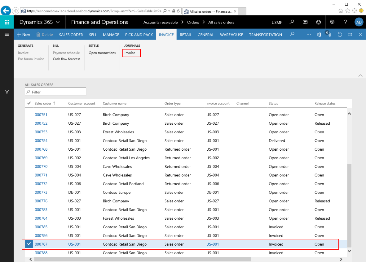 Sending Multiple Customer Invoices In A Single Email In Dynamics - Invoice 365