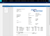 <p>Docentric Screen destination provides much better report viewer with no difference between previewed and printed document, printed pages are shown in a sidebar, zoom in and zoom out works properly, etc.</p>