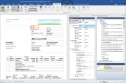 <p>From within MS Word (i.e. Docentric AX Designer) you can preview designing report in different languages completely offline - not being connected to D365FO in any way. This way you can also easily outsource document design.</p>