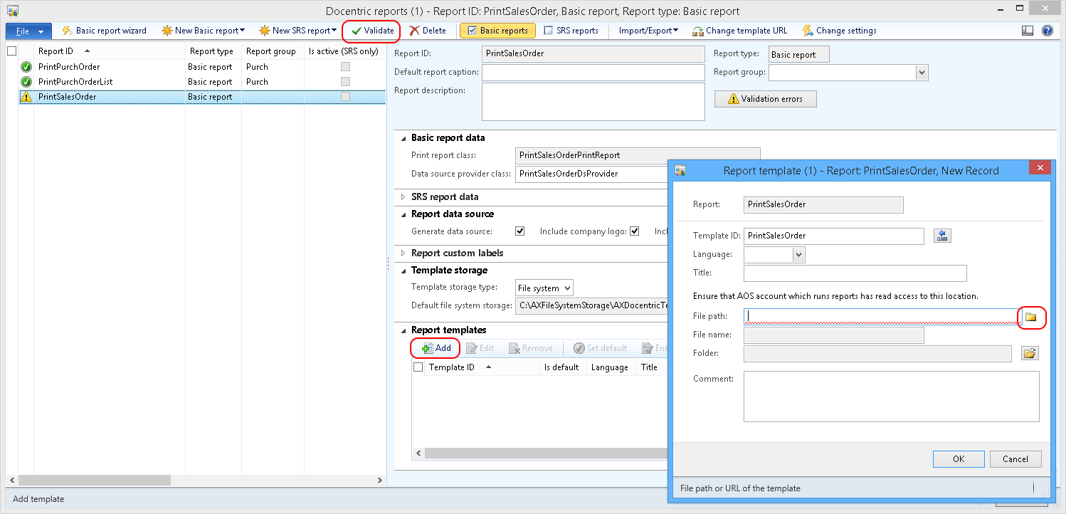 Basic Report Examples - Docentric AX