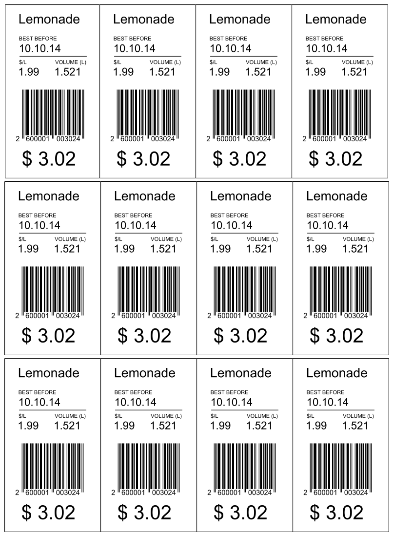 Barcodes in Microsoft Dynamics AX