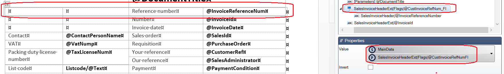 Example 6: Sales Invoice Report - Docentric AX