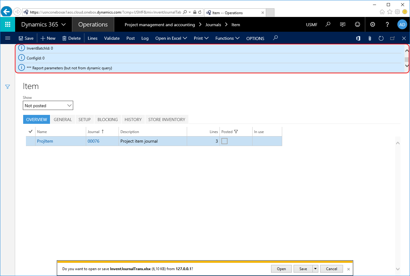How to Add Report Dynamic Parameter to DDSP - Docentric AX