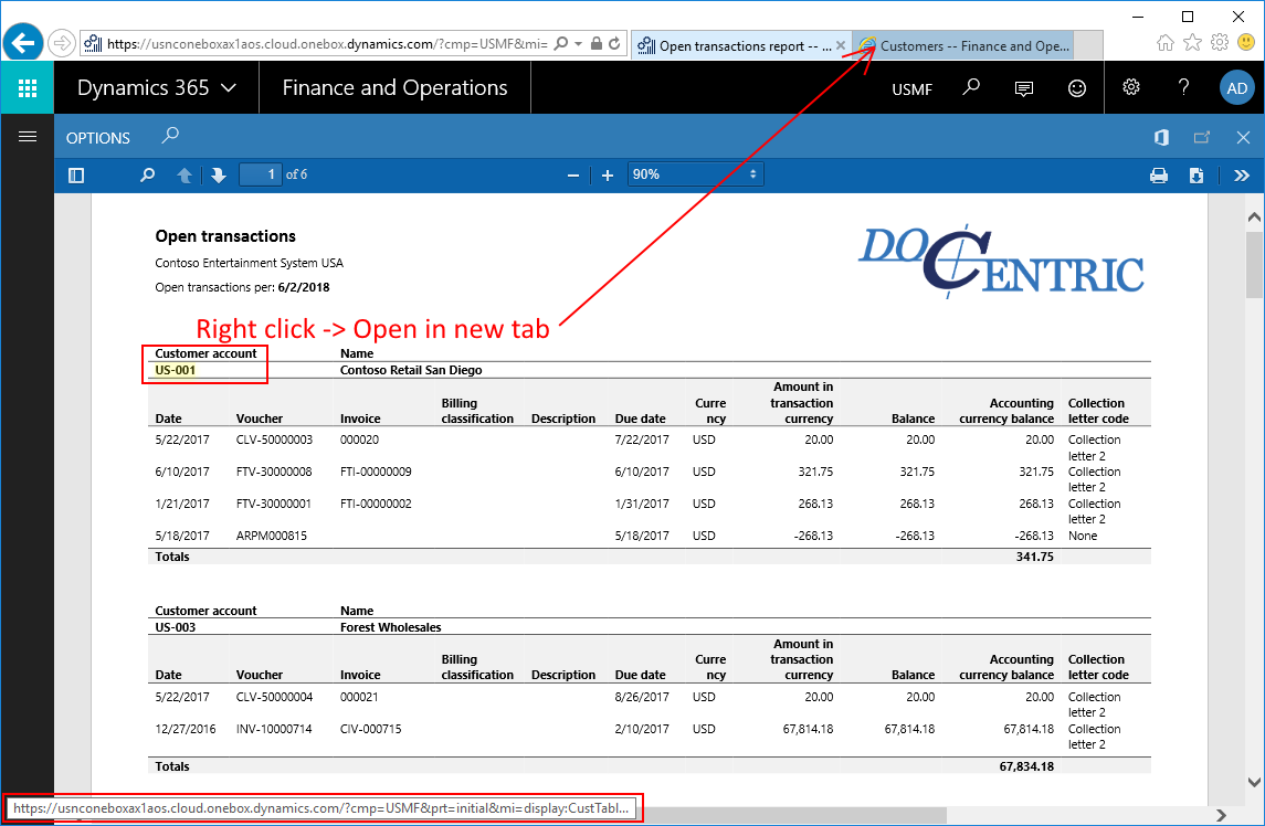 Deep links (aka drill-through links) in SSRS reports in