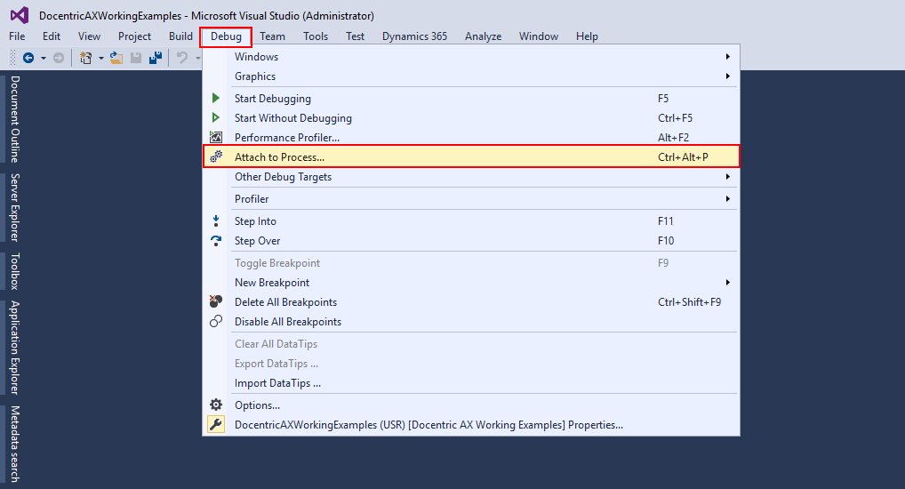 Debug workflows in Dynamics 365 for Finance and Operations