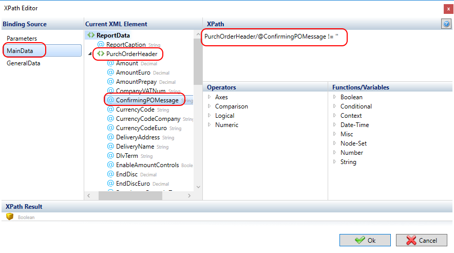 Using the If Tagging Element - Docentric AX