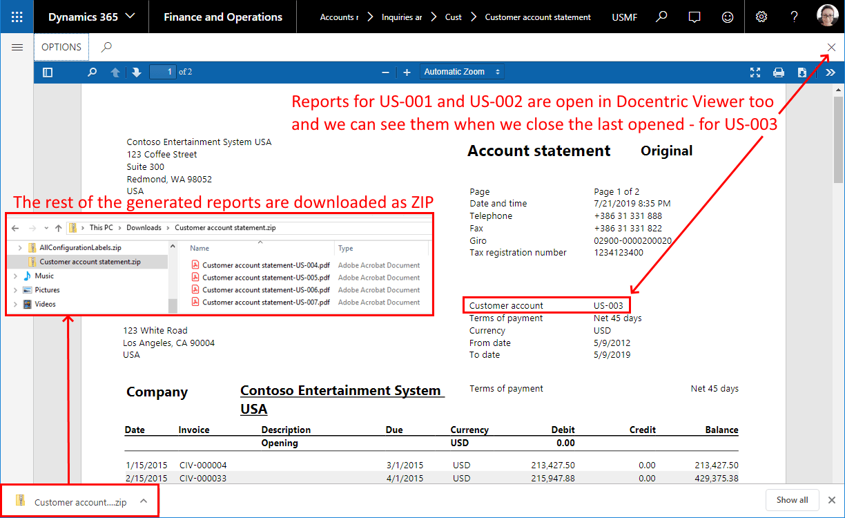 Comparison: New SSRS PDF Viewer vs  Docentric Viewer